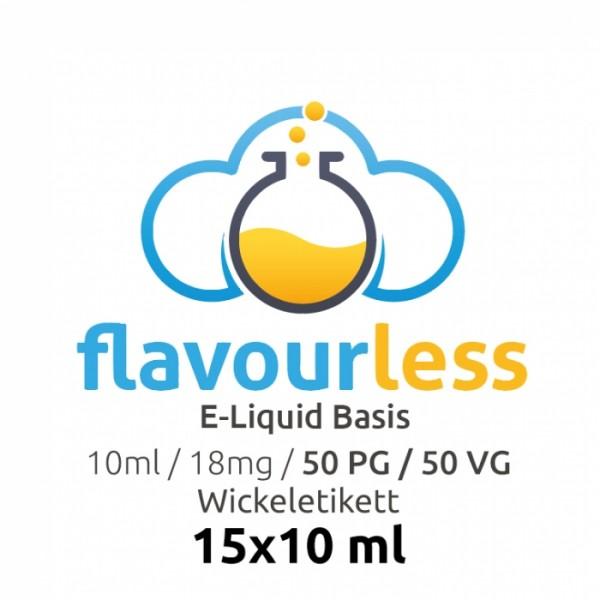 flavourless NIKOTINSHOTS 50/50 18mg 15 Stk.
