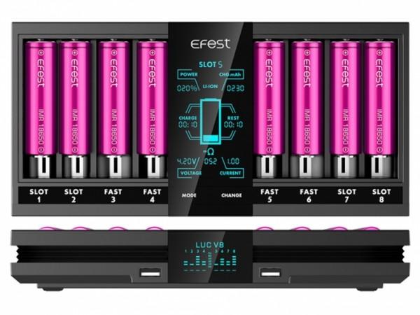 Efest LUV V8 8-Slot Ladegerät