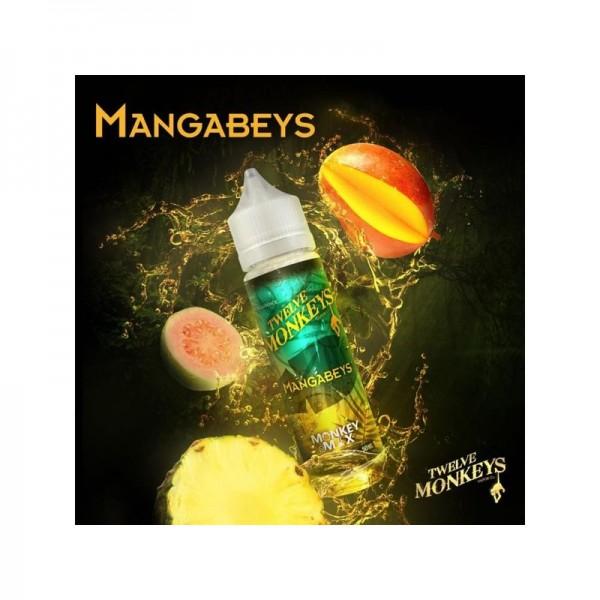 Twelve Monkeys Liquid MANGABEYS 60ml