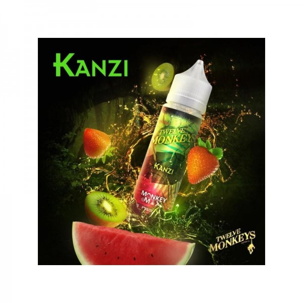 Twelve Monkeys Liquid KANZI 60ml