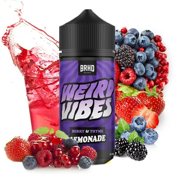 BRHD Weird Vipes Aroma BERRY-THIME Longfilll