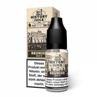 History Juice Liquid REUNION 10ml
